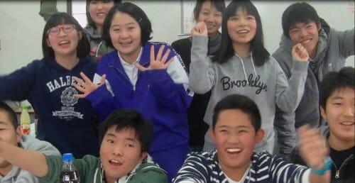 小学生の生徒たち